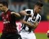 Dybala, sustituido en el Milan - Juventus