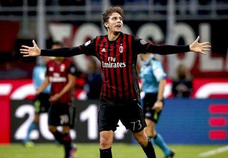 Milan teenager downs Juventus