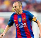 Iniesta faces race to be fit for Clasico