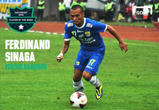 Goal Southeast Asia Player of the Week: Ferdinand Sinaga