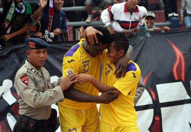 Laporan Pertandingan: Persik Kediri 4-1 Barito Putera