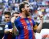 Lionel Messi bejubelte sein Tor vor den Valencia-Anhängern