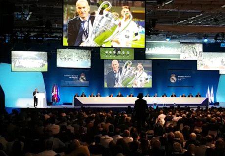 Florentino destaca a Zidane, CR7 y Arbeloa