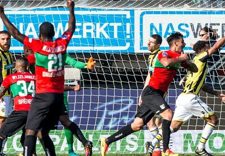 NEC op de valreep naast Vitesse