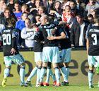 Ajax ontvangt Excelsior in vormdip
