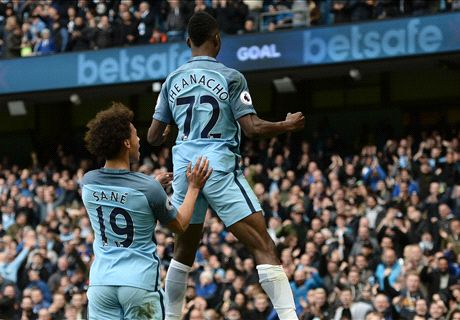 Iheanacho rescues point for Man City