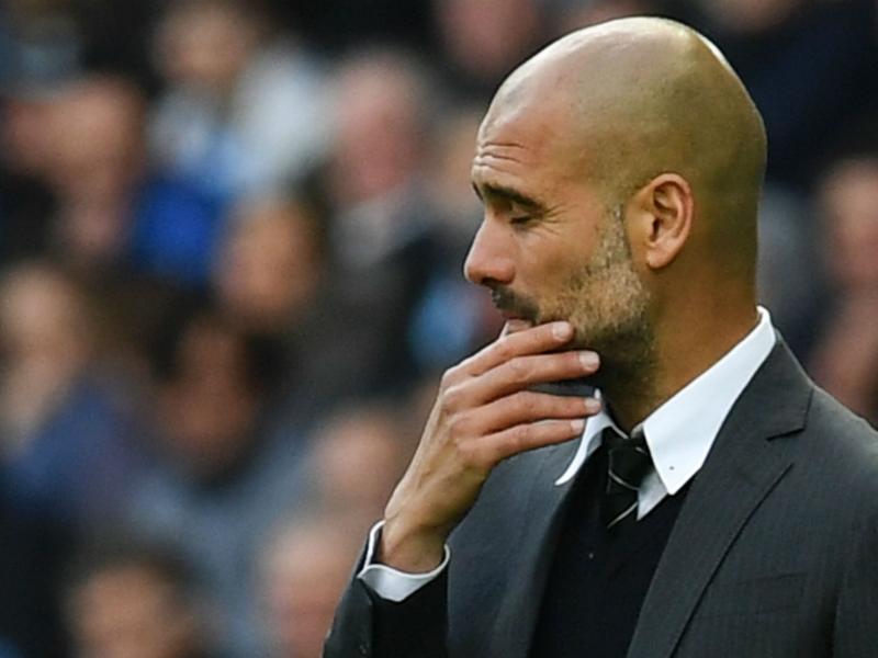 Manchester City, la pire série de la carrière de Guardiola