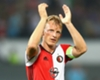 Feyenoord 1-1 Ajax: Kuyt cancels out Dolberg opener to earn hosts a point