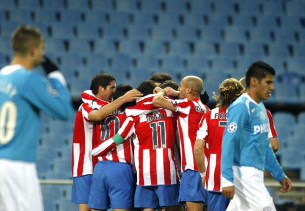 Atletico Win In Empty Vicente Calderon