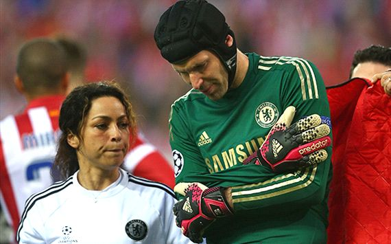Petr Cech Atletico Madrid Chelsea Champions League semi final 04222014