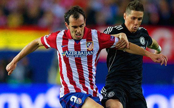 Fernando Torres Diego Godin Atletico Madrid Chelsea Champions League semi final 04222014