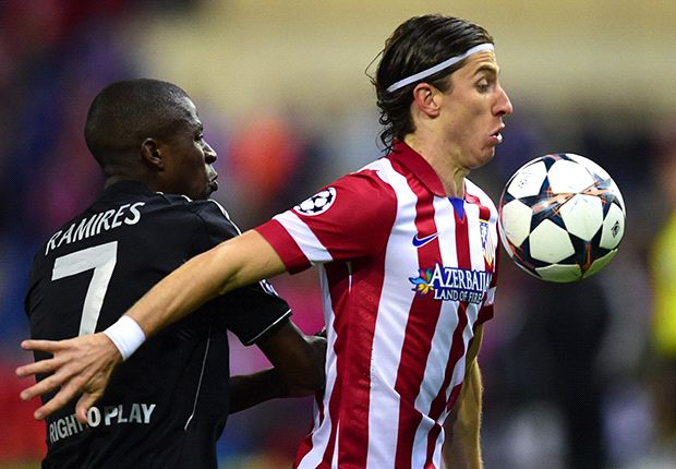 Filipe Luis Ramires Atletico Madrid Chelsea Champions League semi final 04222014
