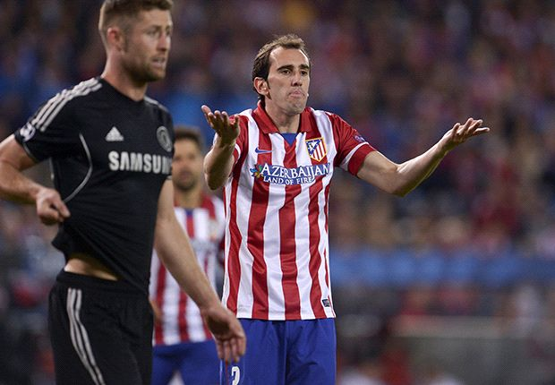 Atletico vs. Chelsea in pictures: Blues survive war of attrition