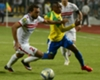 Sundowns' Khama Billiat and Ramzi Abd El-Hamid of Zamalek
