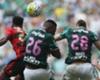 """Diego Souza reclama de árbitro e sugere """"campeonato à parte"""" entre Palmeiras e Flamengo"""