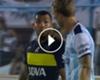 Empató el partido, pero se quedó sin trofeo: ¿por qué Tevez le negó la camiseta a Menéndez? ►