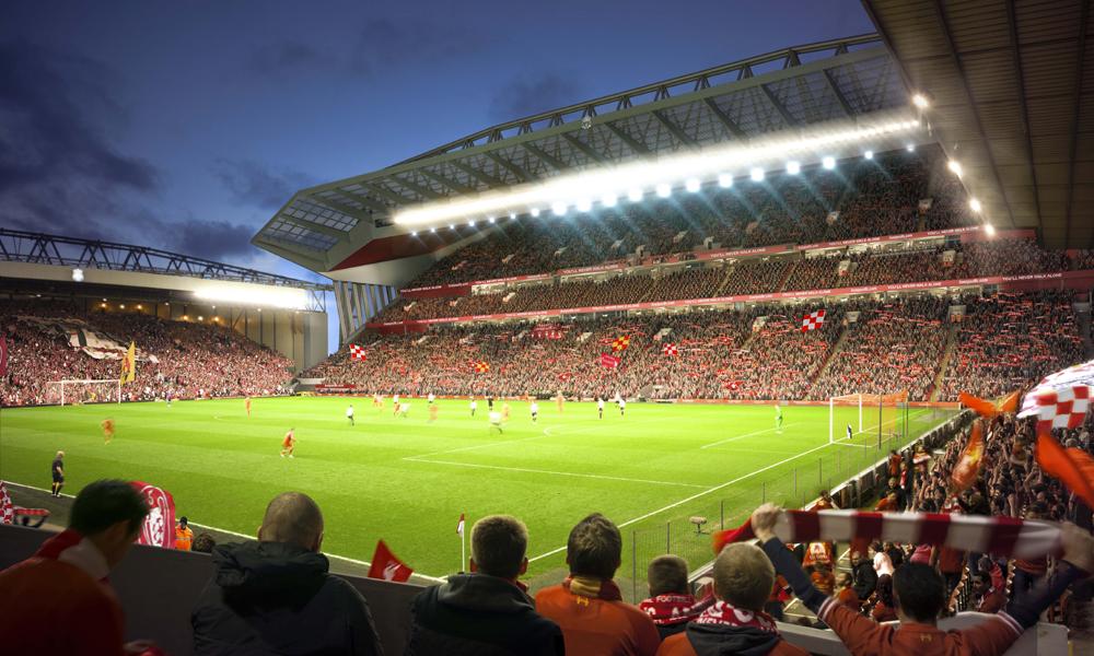 Die Pläne des FC Liverpool zum Stadionumbau