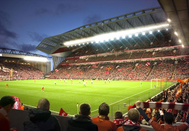Liverpool unveil Anfield redevelopment plans