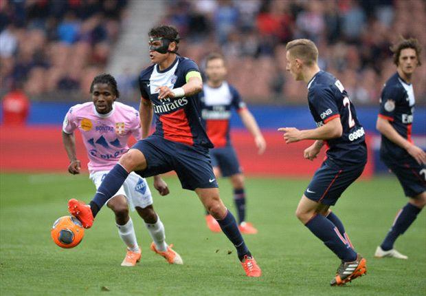 Thiago Silva Paris SG Evian Ligue 1 04232014