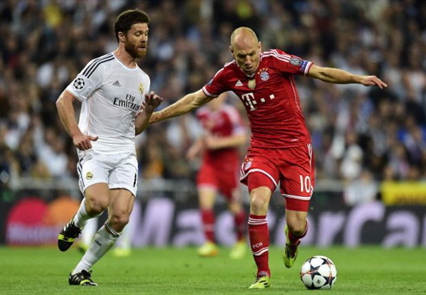 'I expected more from Real Madrid' - Robben