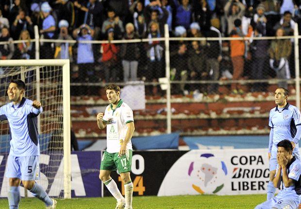 Bolívar es el primer cuartofinalista de la Copa