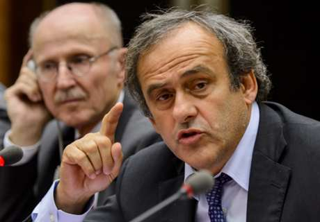 Platini: Don't expect blood from FFP