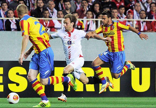 Sevilla 2-0 Valencia: Los hispalenses apuntan a Turín