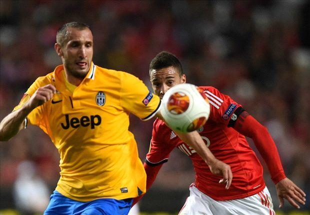 Tevez ends his European drought as Lisbon salutes Lima - Thursday's Europa League in pictures