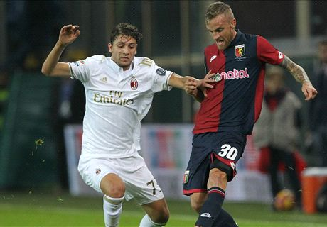 Rigoni dazzles as Genoa thump Milan