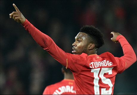 Super Sturridge sends Reds to quarters