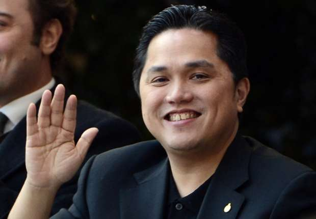 Inter president Erick Thohir