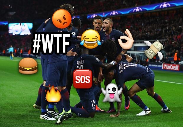 Insolite - Le début de saison des joueurs du PSG en emojis