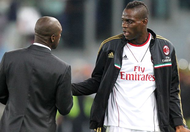 AC Milan boss Seedorf defends Balotelli withdrawal against Roma