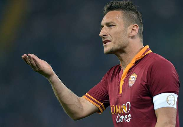 Totti: Roma will make Juventus sweat right until the end