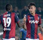 Chievo-Bologna, un punto a testa: è 1-1