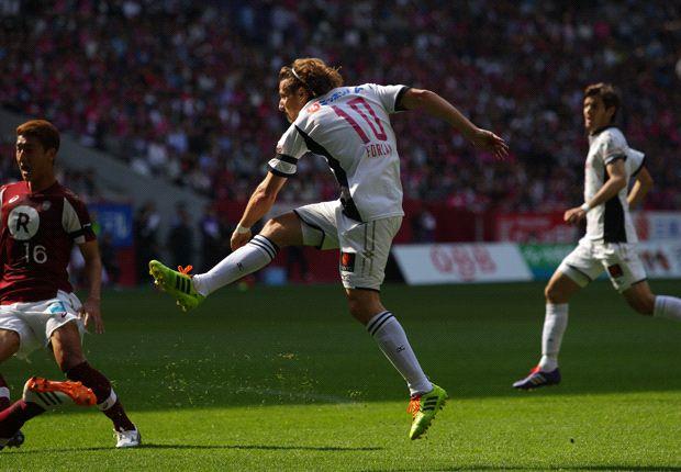 Diego Forlan scores for Cerezo Osaka