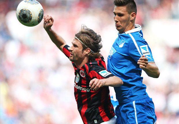Die Partie zwischen Hoffenheim und Frankfurt war äußerst zweikampfbetont