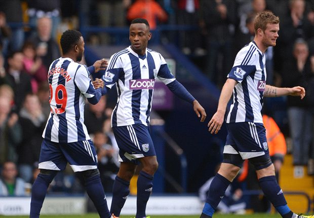 West Brom 1-0 West Ham: Berahino boosts survival hopes
