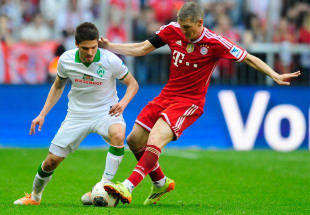 Bayern komt na rust op gang tegen Werder Bremen