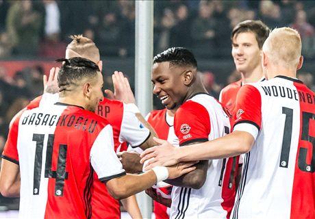 Feyenoord kegelt Excelsior uit Beker