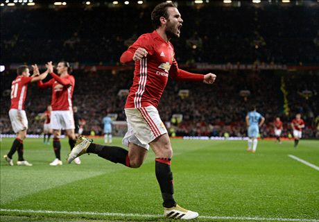 Mata wins the derby for United