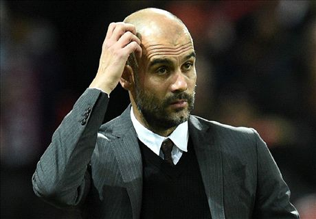 Pep's methods faltering at City
