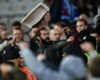 Seats torn apart & thrown as fan violence mars West Ham vs Chelsea clash