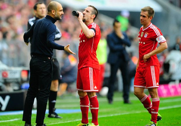 Guardiola wants to see Ribery's 'angry' side