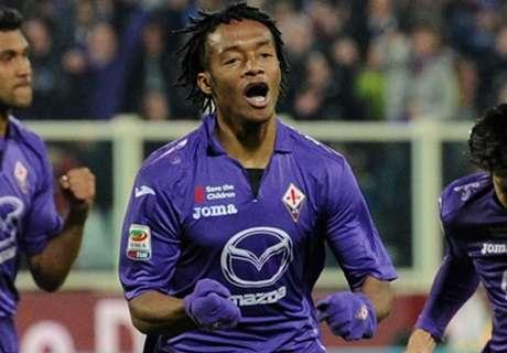 Fiorentina alista renovación de Cuadrado