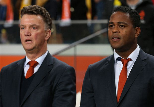 Van Gaal should be 'first pick' for Man Utd, says Kluivert