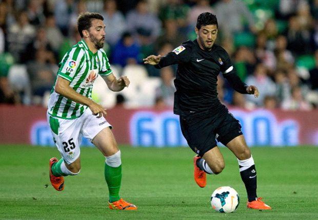 Betis 0-1 Real Sociedad: Carlos Vela luce en el velatorio verdiblanco