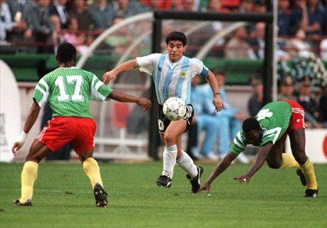 Zidane: Maradona estava em outro nível