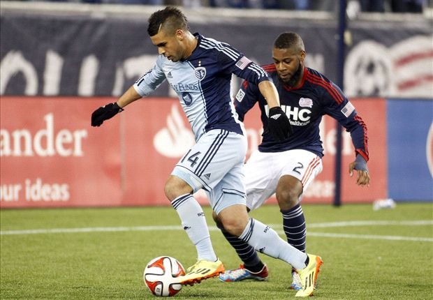New England Revolution 2-0 Sporting Kansas City: Revs capitalize on Collin red