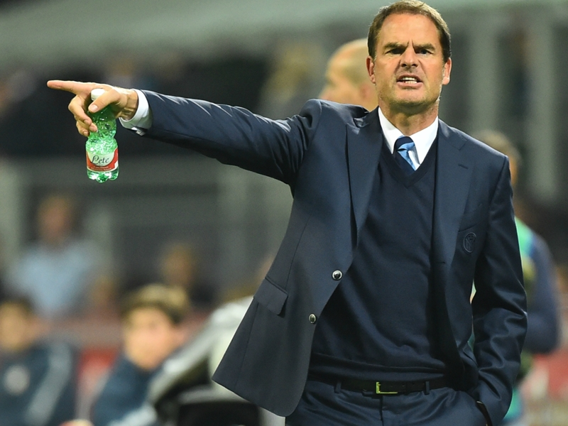 Betting: De Boer just 13/8 not to last the season at Crystal Palace